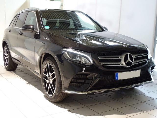 Mercedes-Benz GLC 250 4M AMG Navi+LED+PANO+KAMERA+KEYLESS+PTS -  Leasing ohne Anzahlung - 529,00€