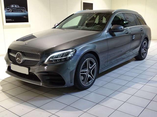 Mercedes-Benz C-Klasse C 220 d AMG LED+NIGHT+PANO+KAMERA+KEYLESS+PTS+Sp -  Leasing ohne Anzahlung - 504,00€