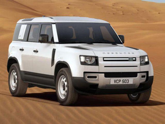 Land-Rover Defender 110 D200 3.0 Liter 6-Zylinder MHEV Diesel 147 kW (200 PS) Automatikgetriebe und Allradantrieb -  Leasing ohne Anzahlung - 499,00€
