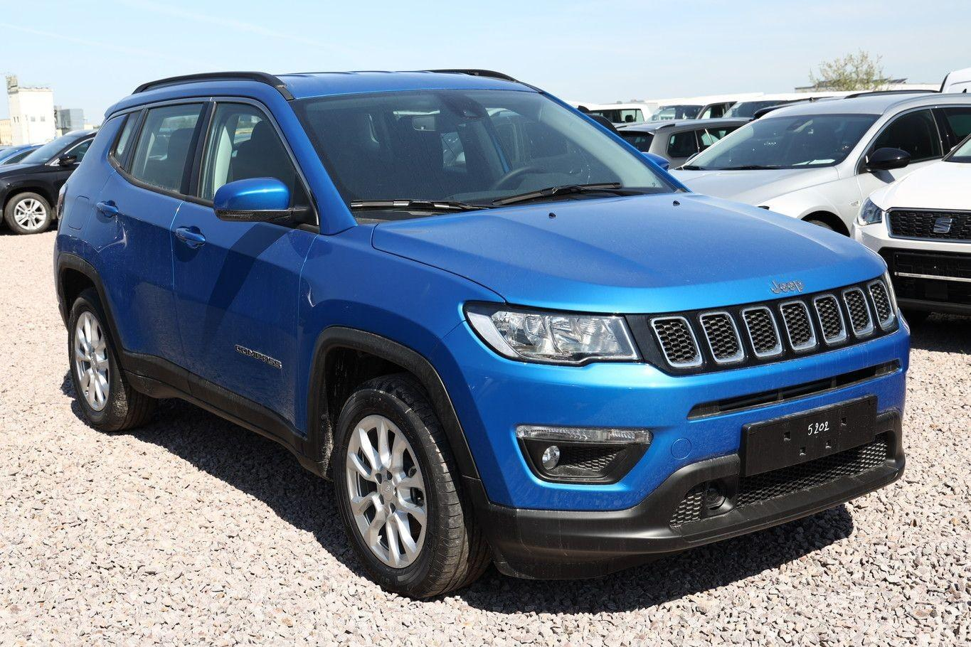 Jeep Compass 1.3 GSE 150 DCT Longit Keyl SHZ PDC - Leasing ohne Anzahlung - 367457_02