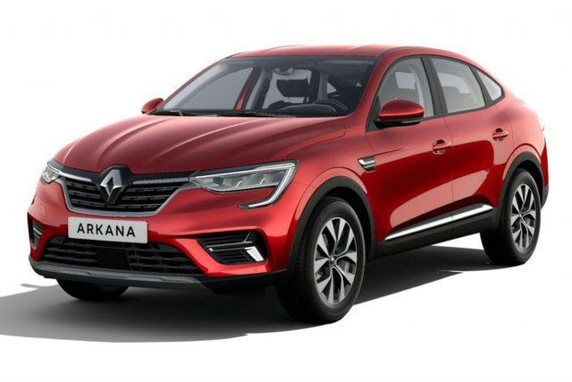 Renault Arkana ZEN TCe 140 EDC Kam PDC vo/hi -  Leasing ohne Anzahlung - 180,00€