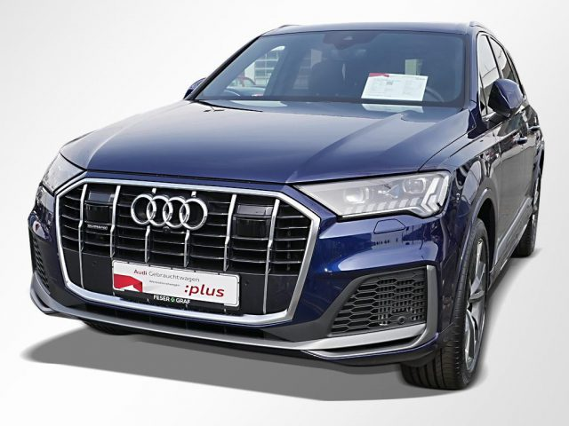 Audi Q7 55 TFSIe S line – NAVI,HD-MATRIX,ACC,AHK,PANO -  Leasing ohne Anzahlung - 999,00€