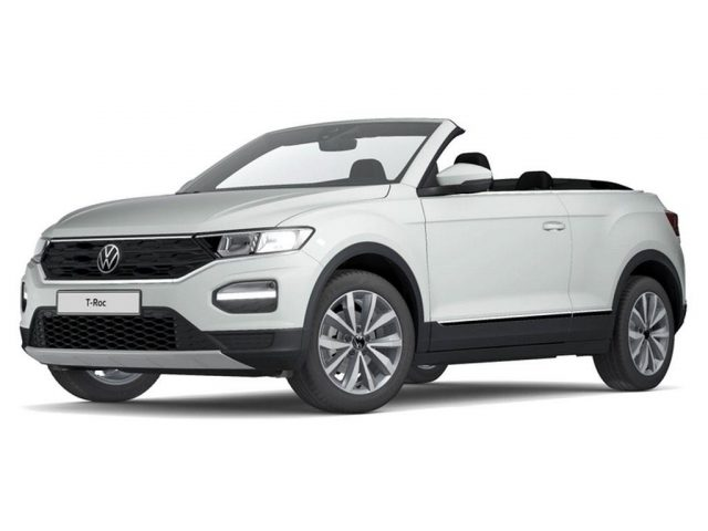 Volkswagen T-Roc Cabriolet Style 1.0 l TSI OPF 81 kW (110 PS) 6-Gang -  Leasing ohne Anzahlung - 189,21€