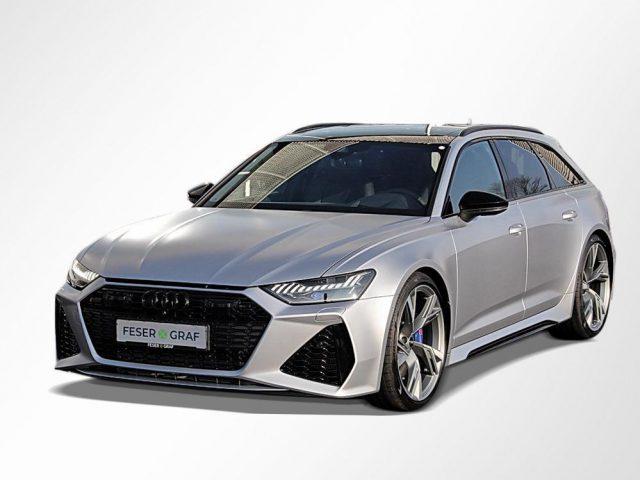 Audi RS6 Avant Av. Silber-MATT/Laser/Dynamik+/Pano/Standhzg -  Leasing ohne Anzahlung - 1.799,00€