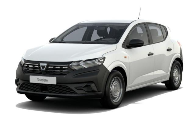 Dacia Sandero Access SCe 65 -  Leasing ohne Anzahlung - 86,00€
