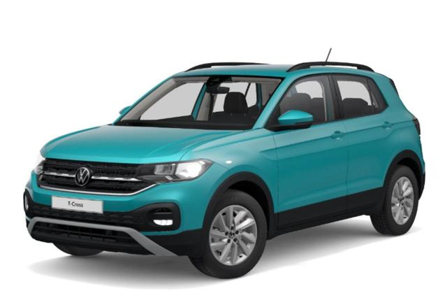 Volkswagen T-Cross 1.0 TSI 110 DSG Life AppCo AAC PDC -  Leasing ohne Anzahlung - 231,00€