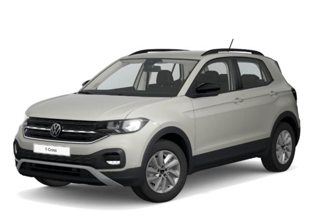 Volkswagen T-Cross 1.0 TSI 110 Life AppCo PDC FrontAs -  Leasing ohne Anzahlung - 167,00€