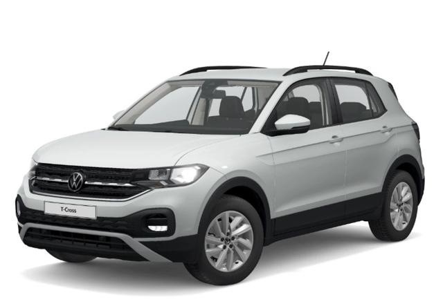 Volkswagen T-Cross 1.0 TSI 110 Life AppCo PDC FrontAs -  Leasing ohne Anzahlung - 168,00€