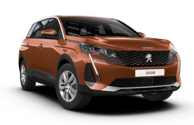 Peugeot 5008 1.2 PT 130 FL 7-S LED SHZ Kam MirrorL -  Leasing ohne Anzahlung - 261,00€