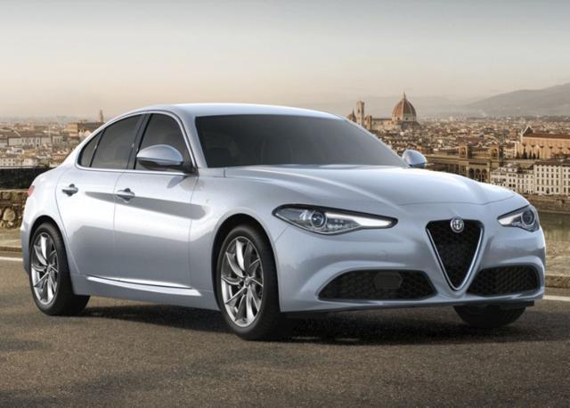 Alfa-Romeo Giulia 2.2 Turbo 190 AT8 Ti Leder ACC Nav SHZ -  Leasing ohne Anzahlung - 403,00€