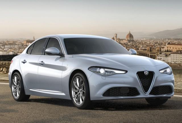 Alfa-Romeo Giulia 2.2 Turbo 190 AT8 Ti Leder ACC Keyl -  Leasing ohne Anzahlung - 410,00€