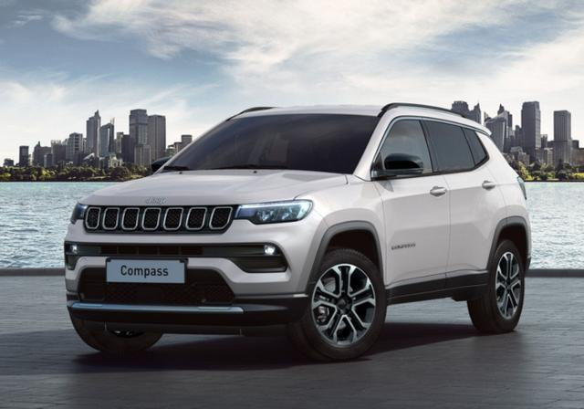 Jeep Compass 1.3 GSE 150 DCT Limited LED Kam AppC -  Leasing ohne Anzahlung - 254,00€