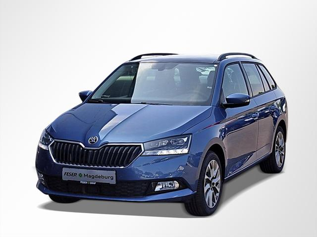 Skoda Fabia Combi 1.0 TSI Clever Best of KLIMA/DAB+ -  Leasing ohne Anzahlung - 179,00€