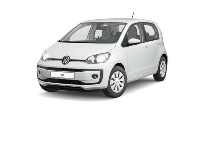 Volkswagen up! 1.0l TSI 5-Gang Winterpaket/Ganzjahresr. -  Leasing ohne Anzahlung - 133,00€