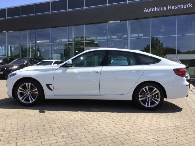 BMW 3er 320 Gran Turismo d Sport Line EU6d-T Aut Navi LED HuD AHK -  Leasing ohne Anzahlung - 349,00€