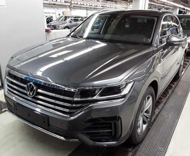 Volkswagen Touareg Elegance 3.0 TDI 170 KW R-Line/AHK/Luftf -  Leasing ohne Anzahlung - 649,00€