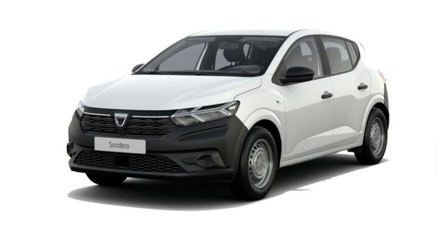 Dacia Sandero Access SCe 65 LED USB BordC elektr. FH -  Leasing ohne Anzahlung - 85,00€