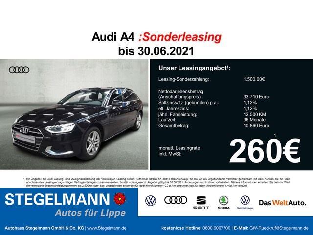 Audi A4 Avant 35 TFSI S-tronic Advanced ACC/LED/Navi/AH -  Leasing ohne Anzahlung - 301,67€
