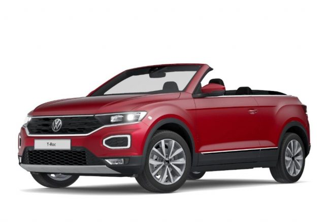 Volkswagen T-Roc Cabrio 1.5 TSI 150 DSG Style LED Nav DigC -  Leasing ohne Anzahlung - 300,00€