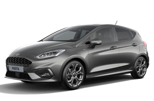Ford Fiesta 1.0 EcoBoost 125 DCT MHEV ST-Line LED Nav -  Leasing ohne Anzahlung - 190,00€