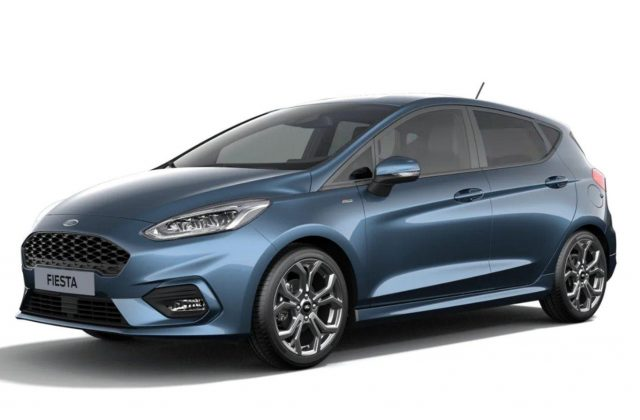Ford Fiesta 1.0 EcoBoost 125 DCT MHEV ST-Line LED Nav -  Leasing ohne Anzahlung - 187,00€