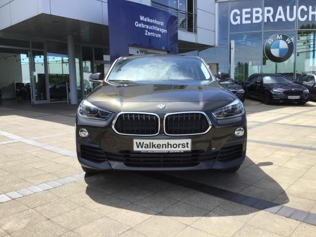 BMW X2 sDrive 18 d Advantage EU6d-T, LED, Rückfahrkamera, Navi, Panoramadach -  Leasing ohne Anzahlung - 279,00€