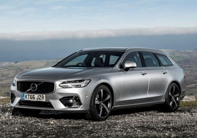 Volvo V90 D4 190 Aut. AWD R-Design LED Nav Kam PDC -  Leasing ohne Anzahlung - 469,00€