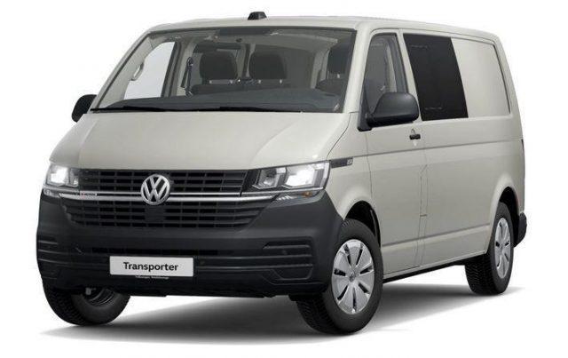 Volkswagen Transporter 6.1 Kastenwagen T6.1 Kombi Motor: 2,0 l TDI SCR Blue -  Leasing ohne Anzahlung - 489,00€