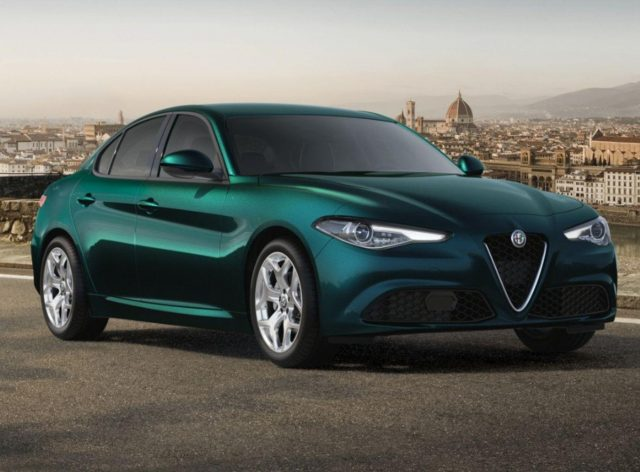 Alfa-Romeo Giulia 2.2 Turbo 160 AT8 Nav ACC 18Z Key el.Sitz -  Leasing ohne Anzahlung - 337,00€
