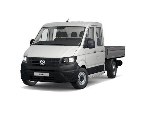 Volkswagen Crafter Fahrgestell 35 Pritschenwagen Doppelkabine EcoProfi -  Leasing ohne Anzahlung - 250,00€
