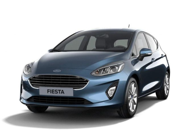 Ford Fiesta 1.0 EcoBoost 125 MHEV Titanium LED SHZ -  Leasing ohne Anzahlung - 162,00€