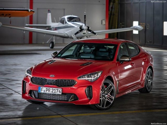 Kia Stinger 2.0 T-GDI 256 GT-Line ExclusiveP PanoD -  Leasing ohne Anzahlung - 428,00€