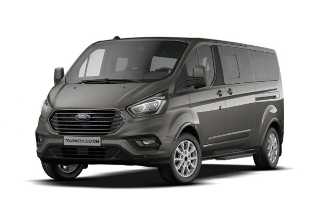 Ford Tourneo Custom 2.0 TDCi 130 MHEV Tit L2 8S AHK -  Leasing ohne Anzahlung - 395,00€