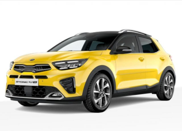 Kia Stonic 1.0 T-GDI 120 Aut. GT Line LED Nav Kam -  Leasing ohne Anzahlung - 216,00€