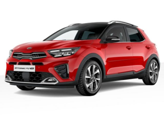 Kia Stonic 1.0 T-GDI 120 Aut. GT Line LED Nav Kam -  Leasing ohne Anzahlung - 218,00€