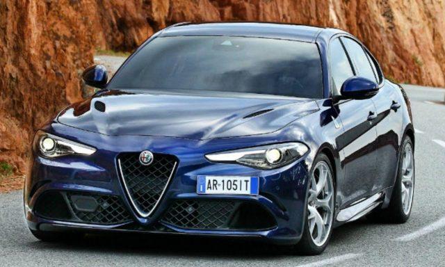 Alfa-Romeo Giulia 2.2 Turbo 160 AT8 Sprint Nav Kam Keyless -  Leasing ohne Anzahlung - 376,00€