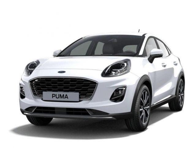 Ford Puma 1.0 EB 125 MHEV Tit LED Nav SHZ PDC Klima -  Leasing ohne Anzahlung - 204,00€