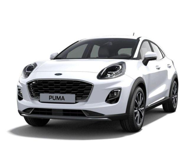 Ford Puma 1.0 EB 125 MHEV Tit LED Nav SHZ PDC Klimaau -  Leasing ohne Anzahlung - 224,00€