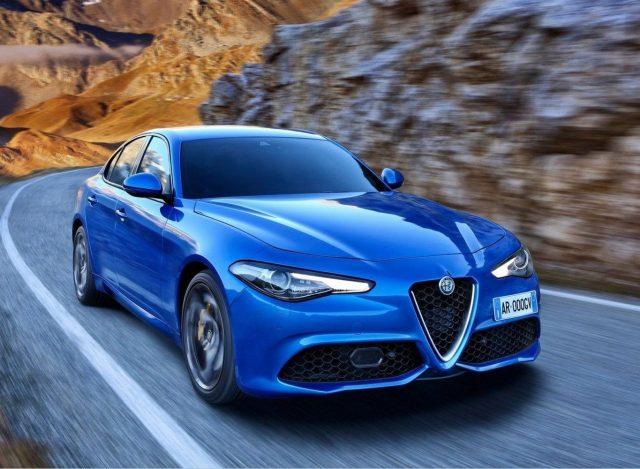 Alfa-Romeo Giulia 2.2 JTDM 210 Q4 Veloce Nav WinterP Kam -  Leasing ohne Anzahlung - 345,00€