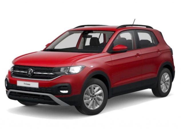 Volkswagen T-Cross 1.0 TSI 110 Life AppCo PDC SHZ MFL LM16Z -  Leasing ohne Anzahlung - 243,00€