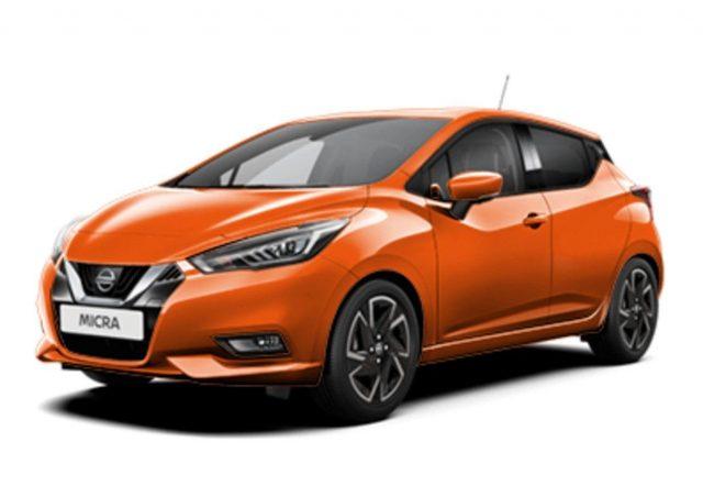 Nissan Micra 1.0 IG-T 92 Aut. Acenta LaneAs Temp NSW -  Leasing ohne Anzahlung - 170,00€