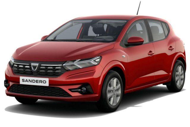 Dacia Sandero Comfort SCe 65 Kam PDC vo/hi -  Leasing ohne Anzahlung - 110,00€