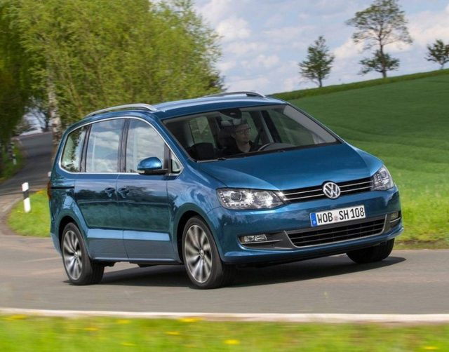 Volkswagen Sharan 2.0 TDI 140 Highline 7-S Xenon Pano eHk -  Leasing ohne Anzahlung - 350,00€